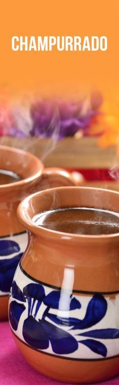 Para estas fiestas de día de muertos o en las posadas navideñas prepara este rico champurrado. La clásica bebida hecha a base de masa de maíz y chocolate de mesa que seguro te encantará.