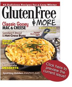 Subscribe to Gluten Free & More and save big off of the cover price!