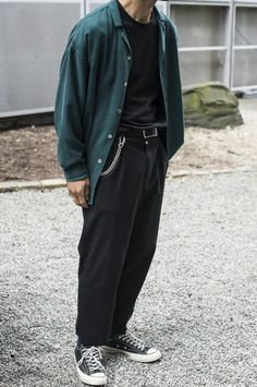 Bleu Mode — Second Layer spring summer 2017 / Copenhagen . Cool Outfits, Casual Outfits, Fashion Outfits, Style Masculin, Vetement Fashion, Mode Style, Mens Clothing Styles, Aesthetic Clothes, Streetwear Fashion