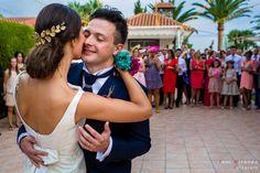 Baile nupcial en banquete celebrado en finca privada de Aspe, Alicante