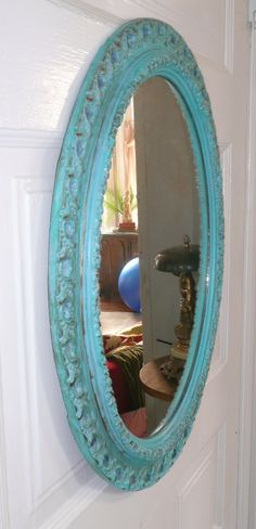 turquoise mirror, for Kristeen!!!!! :)