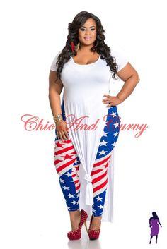 plus rockabilly dress patriotic