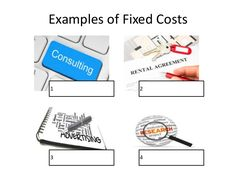 Fixed costs: costs that must be paid regardless of how much of a good or service is produced