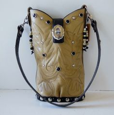 """""""Alivia"""" is a single StageCoach Bag and can be found in the Pink Door Gallery in Tucson, Az.  She is a numbered piece and a work of art.  www.stagecoachbagsandcollectibles.com"""