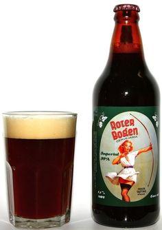 Cerveja Roter Bogen Imperial IPA, estilo Imperial / Double IPA, produzida por Cervejaria Roter Bogen, Brasil. 8.1% ABV de álcool.