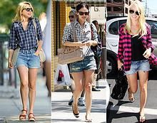 fashiontrademoda | Get the look: plaid shirt