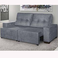 Aquele momento de descanso pode ser muito mais proveitoso com um sofá confortável. Este, é retrátil e reclinável, perfeito para proporcionar conforto e bem estar. :)     #decoração #design #madeiramadeira