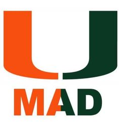 U mad I'm spamming ya'll with Miami Hurricanes? Deal with it!! GO CANES!!!