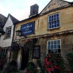 An old fashioned #pub lunch at The George Inn in #Lacock #England. #travel