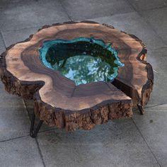 Fantastisches Harz Holztisch Projekt 7 de madera – proyectos de trabajo en madera – Epoxy Crafts – New Epoxy