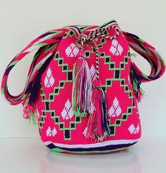 handmade by the Wayuu women of Colombia <3