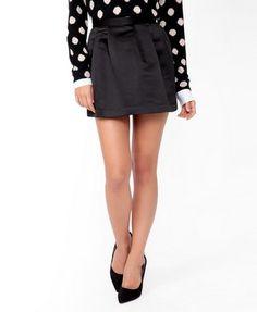 Pleated Satin Skirt   FOREVER21 - 2027705086