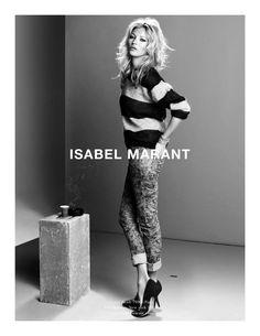 La campagne Isabel Marant automne-hiver 2008-2009,  photographiée par Inez & Vinoodh