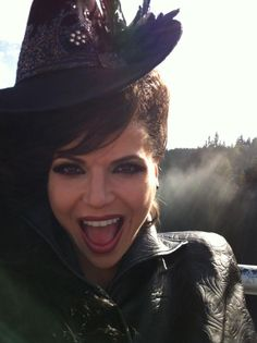 Twitter / LanaParrilla: never seen before pic released by Lana Parrilla, Evil Queen from Once Upon a Time