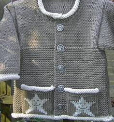 Looking for your next project? You're going to love Little Star Baby Jacket by designer Sylvia Leake.
