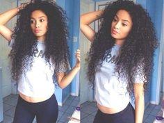 curly hair ♕ ze best
