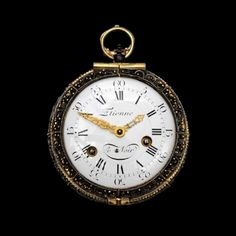 18TH CENTURY COATCH WATCH LENOIR  Country:	  	France Period:	  	18th Century  An eighteenth century French, striking, silver cased coach watch by ETIENNE LE NOIR, Paris