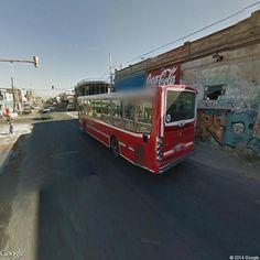 Linea 178 Interno 64 . La Favorita GR I Mercedes Benz OH 1618 L-SB Camino General Belgrano 3401-3499, Lanús Este, Buenos Aires, Argentina   Instant Google Street View