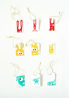 Free Printable: Easter gift tags