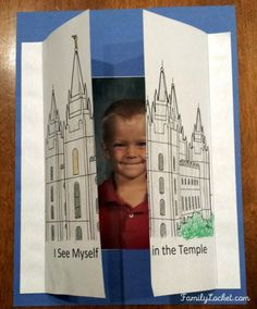 see yourself in the temple activity fhe