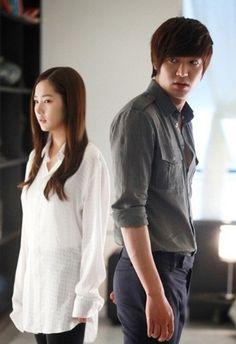 Park Min Young & Lee Min Ho on City Hunter