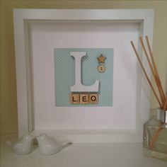 Ideal for a baby's room; as cute as a button, as unique as a star.