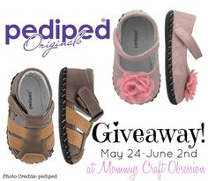 [OVER] #WIN a pair of pediped Originals in winners choice of gender and size! The Giveaway will close late on the evening of June 7th.