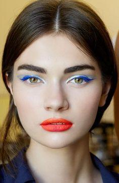 Dior Haute Couture, Fall '12 #runway #beauty #makeup