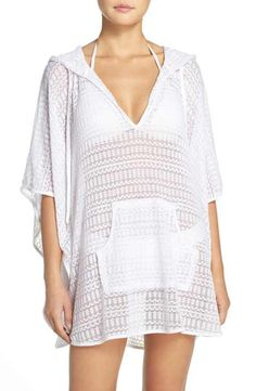 3962787669767a La Blanca Beyond the Beach Cover-Up Poncho Women s Swimsuits   Cover Ups