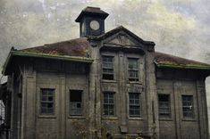 Insane Asylum In Portland Oregon | Old port building, Portland, OR by Kevanaponte , on Flickr