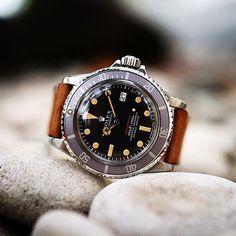 Rolex - Red Sub #watch #vintage #luxury @tradee_app