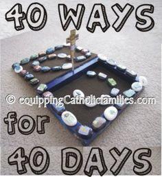 40 Ways for 40 Days