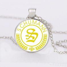 Schumann Music Cabochon Necklace