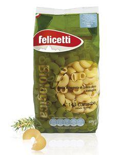 CLIENTE Pastificio Felicetti. Packaging per la pasta di semola di grano duro…