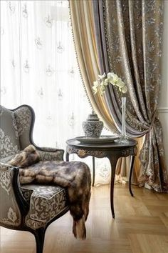 Image result for traditional window covering ideas