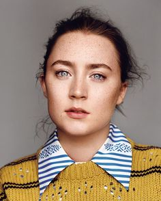 Saoirse Ronan for 'The Gentlewoman' (A/W 2015). Photographed by Alasdair McLellan