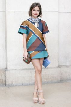 Miroslava Duma, editor at Buro 24/7. Photo: Ed Kavishe / BFAnyc.com