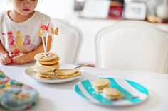 Pancakes and Sprinkles and butterflies