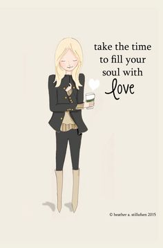 Fill Your Soul With Love Love Quotes  Art by RoseHillDesignStudio
