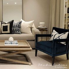 Studiooonline© My Studio Style- the perfect formal reception room to relax and entertain guests in style Reception Rooms, Fashion Studio, Relax, Comfy, Entertaining, Living Room, Interior Design, Formal, Classic