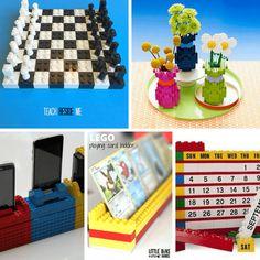 25 awesome LEGO crafts -- upcycled legos