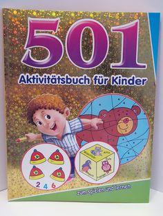501 Aktivitätsbuch für Kinder - zum spielen und lernen (03) - Diesen und weitere Artikel finden Sie bei Marias-Einkaufsparadies.de - (www.marias-einkaufsparadies.de)
