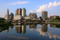 Skyline of Columbus, Ohio