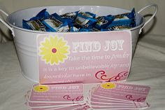 I ran out of little bags to put my treats in so I will just let the girls take a handful when I pass it around. Hope these can help. Click here for thehandout(this is a big file and might take a...
