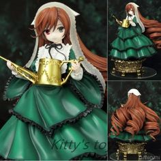 $28.55 (Buy here: https://alitems.com/g/1e8d114494ebda23ff8b16525dc3e8/?i=5&ulp=https%3A%2F%2Fwww.aliexpress.com%2Fitem%2FJapanese-Anime-Rozen-Maiden-Action-Figure-Jade-Stern-Doll-Cute-Suiseiseki-PVC-ACGN-figure-Garage-Kit%2F32637963736.html ) Japanese Anime Rozen Maiden Action Figure Jade Stern Doll Cute Suiseiseki PVC ACGN figure Garage Kit Toys Brinquedos Anime 14cm for just $28.55