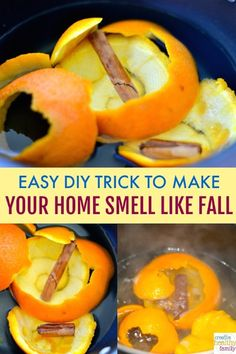 DIY Trick To Make Your Home Smell Like Fall - - The fall season is here and we all want to feel cozy and warm inside our homes. Here is an Easy DIY Trick To Make Your Home Smell Like Fall the natural way. Herbal Remedies, Natural Remedies, House Smells, Autumn Activities, Easy Diy Crafts, Fall Crafts, Do It Yourself Home, Fall Diy, Hacks Diy