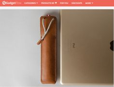Give your smartest device the protection it deserves with the Apple Pencil Case by Hard Graft. Made from super smooth leather and featuring ultra-soft