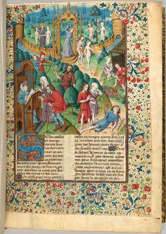 Cas des nobles hommes et femmes malheureux   France, probably Tours   ca. 1480   The Morgan Library & Museum