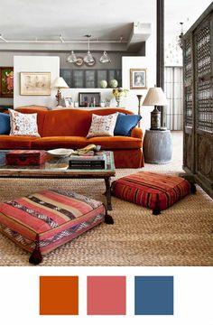 Πως να εντάξεις το πορτοκαλί στην διακόσμηση του σπιτιού σου! (και με ποια χρώματα να το συνδυάσεις)  #burntorange #HuntersGreen #moodboard #navyblue #ιδεεςγιαχρωματα #ιδεεςδιακοσμησης #καμενοπορτοκαλι #πορτοκαλι #πορτοκαλιβελουδο #πορτοκαλικαναπες #πορτοκαλι-μπλε #χρωματα #χρωματικηπαλετα