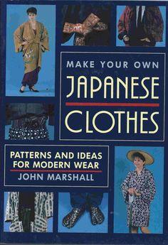 hanten jacket pattern   Make Your Own Japanese Clothes